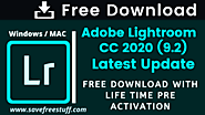Adobe Lightroom Latest Version CC 2020 (9.2) Free Activated