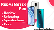 Redmi Note 9 Pro Review | Unboxing | Price And Specs