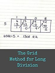 The Grid Method for Long Division