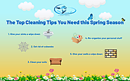The Top Cleaning Tips You Need this Spring Season - CLEAN HOUSE INC
