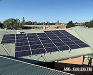 Reduce ongoing electricity cost using commercial solar panel systems