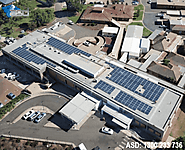Large scale commercial solar panels projects & reviews: ASD