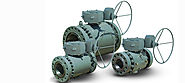 TRUNNION MOUNTED BALL VALVES Mounted Ball Valves SUPPLIER DEALER EXPORTER AND MANUFACTURER IN INDIA