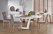 Matt Fixed & Extendable Dining Tables | Briggs and Jones