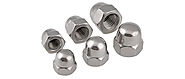 Stainless Steel Dome Nuts Manufacturers Suppliers Dealers in India - Caliber Enterprises