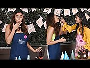 Alia Bhatt Surprises A Fan By Preparing A Cake On Her Special Day | LehrenTV