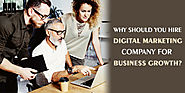 Why Should You Hire Digital Marketing Company For Business Growth? | HubPages