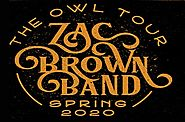 Zac Brown Band extended 'The Owl Tour' with 20 dates in 2020 | eTickets.ca
