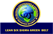 Lean Six Sigma Green Belt Certification Classroom and online Training India Us Uk UAE Africa