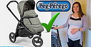 BOOK CROSS ATMOSPHERE PEG PEREGO BABY STROLLER WITH A DIAPER BAG