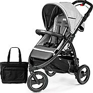 Book Cross Atmosphere Peg Perego Baby Stroller with Bag