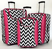 Best Chevron Luggage | Chevron Sets, Rolling Luggage and Carry On