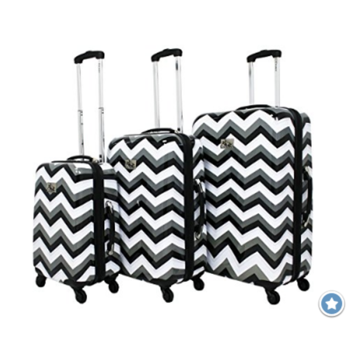 Best Chevron Luggage | Chevron Rolling Luggage, Carry On and Duffel Bags