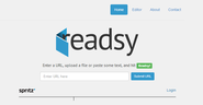 Quickly Master Speed Reading With The Readsy Web App