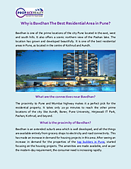 Why is Bavdhan The Best Residential Area in Pune? | edocr