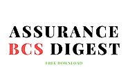 Assurance BCS Digest Pdf Download - StudyNoteBD | Free Study Materials and Notes