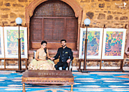"This ""Arranged Couple"" Photo Shoot In The Royal Tijara Fort Palace Will Make You Believe In Destiny"