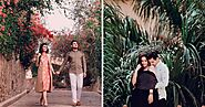 A Contemporary Pre-Wedding Shoot In Rajasthan Fort With Adorable Couple Portraits