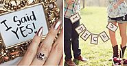 26 Fabulous Ideas To Announce Your Engagement!