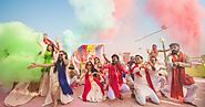 Here Are The Top 30+ Holi Inspired Pre-Wedding Shoot Ideas!