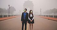 A Wedding Photographer Portrays The Grave Side Of Delhi Air Pollution Through A Thought-Provoking Couple Shoot