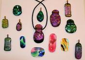 Fused Glass Jewelry | Dichroic Jewelry | Glass Art