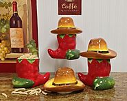 Chili Pepper Canister Sets for Kitchens