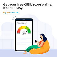 Get your free CIBIL score online. It's that easy.
