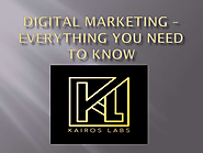 Digital Marketing – Everything You Need to Know