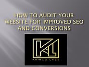 How to Audit Your Website for Improved SEO