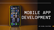 Mobile App Development and UI/UX Designing Company in Delhi
