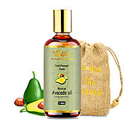 O4U 100% Organic Cold-Pressed Mexican Avocado Oil for Hair, Skin and Face