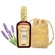 O4U 100% Fresh, Natural & Organic undiluted lavender Essential oil for Aromatherapy, Moisturizing Skin, Hair & Face Care