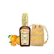 O4U 100% Fresh, Natural & Organic undiluted Orange Essential oil for Aromatherapy, Moisturizing Skin, Hair & Face Care
