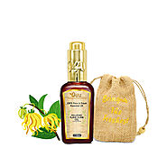 O4U 100% Fresh, Natural & Organic undiluted Ylang Ylang Essential oil for Aromatherapy, Moisturizing Skin, Hair & Fac...