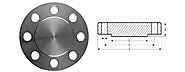 Stainless Steel Blind Flanges manufacturer in India - Akai Metals