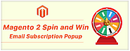 Increase Your Subscription List with Magento 2 Spin and Win extension by Knowband