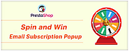 Increase Subscribers for Your Online Store with PrestaShop Spin and Win module by Knowband