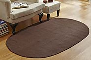 Buy Country Braided Solid Rugs Online at Better Trends