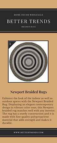 Buy Newport Braided Rugs Online At Better Trends