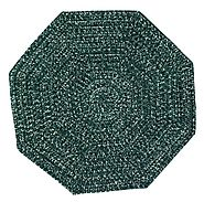 Buy Chenille Reversible Tweed Octagon Braided Rugs Online At Better Trends