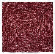 Buy Chenille Reversible Tweed Square Braided Rugs Online at Better Trends