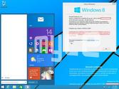 Windows 9 screenshots confirm the return of the Start Menu and an app-based desktop mode