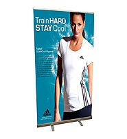Exclusive Telescopic Banner Stand For Trade Show Only At Display Solution