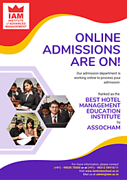 Best course for Hotel Management – Institute of Advanced Management – Institute of Advance Management