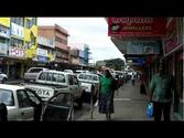 Lautoka, Fiji, city center downtown July 24, 2012, authentic/real-time soundtrack
