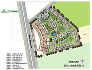 Gaur City 14th Avenue Site Plan