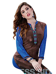 Style yourself with trendy kurtis