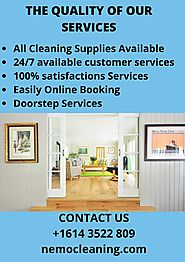 Best Home Cleaning Services Columbus Ohio - NemoCleaning