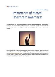 Importance of Mental Healthcare |authorSTREAM